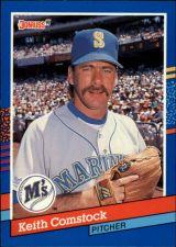 Buy 1991 Donruss #246 - Keith Comstock - Mariners