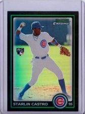 Buy Starlin Castro 2010 Bowman Chrome Rookie Refractor #211