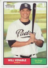 Buy 2010 Topps Heritage #235 Will Venable