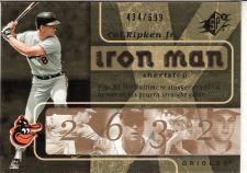 Buy 2007 SPx Iron Man #IM42 - Cal Ripken Jr. - Orioles