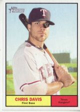Buy 2010 Topps Heritage #254 Chris Davis