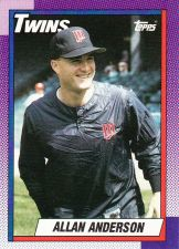 Buy 1990 Topps #71 - Allan Anderson - Twins