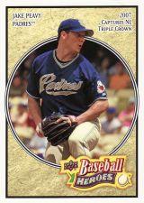 Buy 2008 Upper Deck Heroes #144 - Jake Peavy - Padres