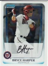 Buy 2011 Bowman Chrome Prospects #BCP1 - Bryce Harper - Nationals