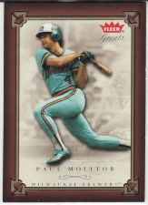 Buy 2004 Fleer Greats Of The Game #30 - Paul Molitor - Brewers