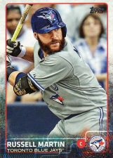 Buy 2015 Topps #436 - Russell Martin - Blue Jays