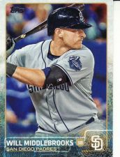 Buy 2015 Topps #526 - Will Middlebrooks - Padres