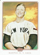 Buy 2010 Topps 206 #91 - Mickey Mantle - Yankees