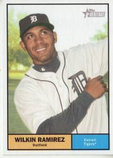 Buy 2010 Topps Heritage #285 Wilkin Ramirez