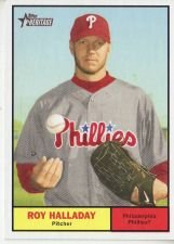 Buy 2010 Topps Heritage #286 Roy Halladay