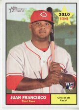 Buy 2010 Topps Heritage #287 Juan Francisco