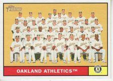 Buy 2010 Topps Heritage #297 Oakland Athletics