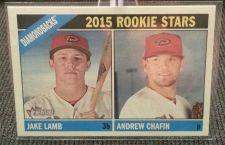Buy Jake Lamb - 2015 Topps Heritage #127 - Pre Rookie Card