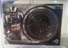 Buy James Laurinaitis - 2014 Topps NFL Kickoff Coin Card #NFLKC-JL