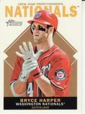 Buy 2013 Topps Heritage New Age Performers #BH - Bryce Harper - Nationals