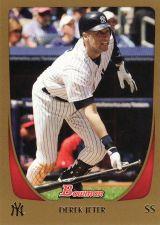 Buy 2011 Bowman Gold #145 - Derek Jeter - Yankees