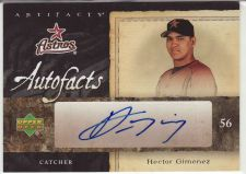 Buy 2007 Artifacts Autofacts #AF-HG - Hector Gimenez - Astros
