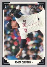 Buy 1991 Leaf #488 - Roger Clemens - Red Sox