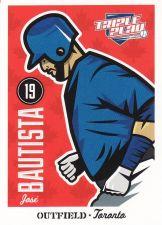 Buy 2012 Triple Play #86 - Jose Bautista - Blue Jays