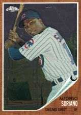 Buy 2011 Topps Heritage Chrome #C161 - Alfonso Soriano - Cubs
