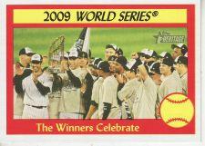 Buy 2010 Topps Heritage #313 Winners Celebrate