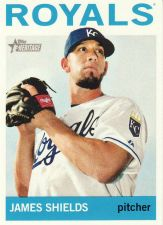 Buy 2013 Topps Heritage #483 - James Shields - Royals