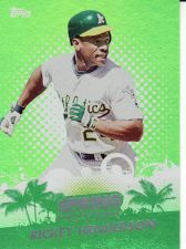 Buy 2013 Topps Spring Fever #SF-32 - Rickey Henderson - Athletics