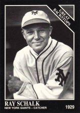 Buy 1993 Conlon Collection #879 - Ray Schalk - Giants