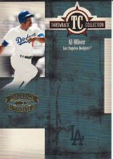 Buy 2005 Throwback Threads Throwback Collection #TC11 - Al Oliver - Dodgers