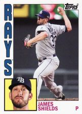 Buy 2012 Topps Archives #172 - James Shields - Rays