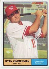 Buy 2010 Topps Heritage #338 Ryan Zimmerman