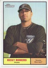 Buy 2010 Topps Heritage #343 Ricky Romero