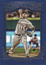 Buy 2013 Gypsy Queen Framed Blue #323 - Ryan Vogelsong - Giants