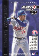 Buy 2000 MLB Showdown Unlimited #277 - Chris Widger - Expos