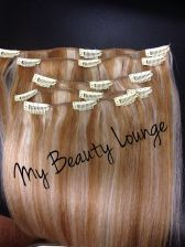 Buy Ready to Ship 5 pcs Set 12 inch Dirty Blonde Clip in Set