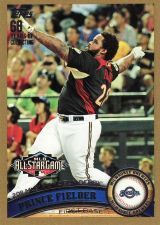 Buy 2011 Topps Update Gold #US6 - Prince Fielder - Brewers
