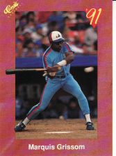 Buy 1991 Classic II #T38 - Marquis Grissom - Expos