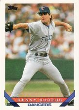 Buy 1993 Topps #169 - Kenny Rogers - Rangers