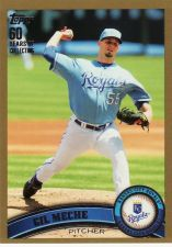 Buy 2011 Topps Gold #9 - Gil Meche - Royals