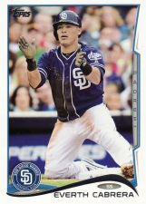 Buy 2014 Topps #280 - Everth Cabrera - Padres