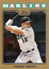Buy 2008 Topps Update Gold #UH32 - Cody Ross - Marlins