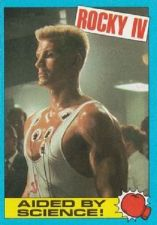 Buy 1985 Topps Rocky IV Trading Card #34 Aided By Science!