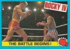 Buy 1985 Topps Rocky IV Trading Card #41 The Battle Begins!