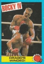 Buy 1985 Topps Rocky IV Trading Card #45 Drago's Winded!