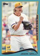 Buy 2014 Topps Wal-Mart Blue #159 - Jason Grilli - Pirates