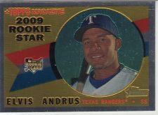 Buy 2009 Topps Heritage Chrome #CHR150 - Elvis Andrus - Rangers