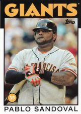 Buy 2014 Topps Archives #141 - Pablo Sandoval - Giants