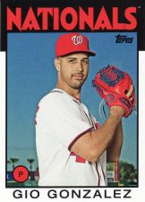 Buy 2014 Topps Archives #134 - Gio Gonzalez - Nationals