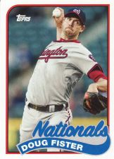 Buy 2014 Topps Archives #185 - Doug Fister - Nationals