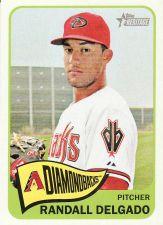 Buy 2014 Topps Heritage #296 - Randall Delgado - Diamondbacks
